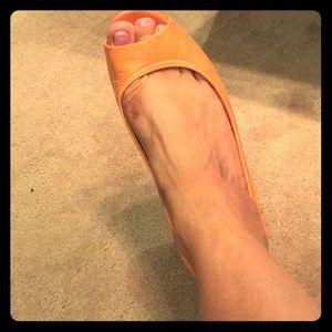 "COLE HAAN NIKE AIR open toed ""sneaker"" wedges"